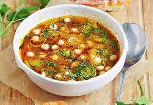 копченый суп из рыбы