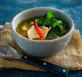 имбирный суп с сибасом ингредиенты