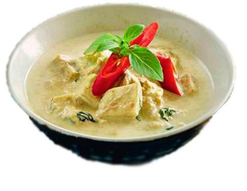 карри по-тайски с курицей