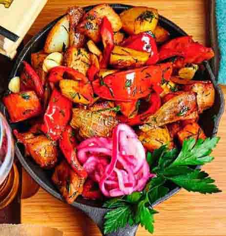 мясное рагу с овощами ингредиенты