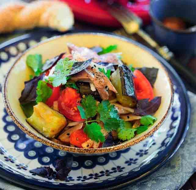 Салат с ягненком - рецепт по всем законам турецкой кухни