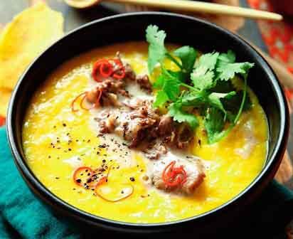 фото суп с бычьими хвостами