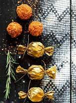 соленые сырные шарики