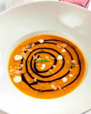 тыквенный суп-пюре с сельдереем