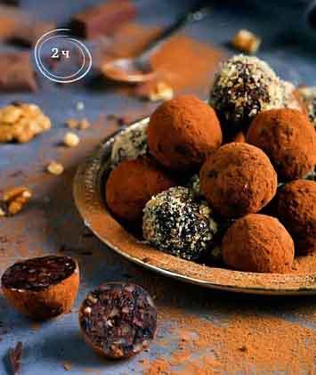 конфеты из чернослива с орехами
