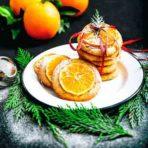 рецепт мандаринового печенья