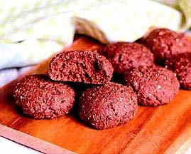 печенье из красной фасоли
