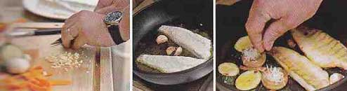 судак на сковороде - пошаговый рецепт