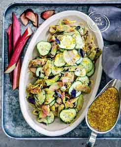 салат из ревеня