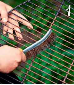 we clean the grate