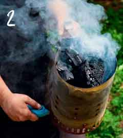 we kindle coals