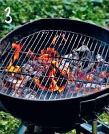 we burn the barbecue grill