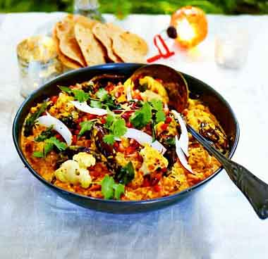 рецепт овощного карри от джейми оливера